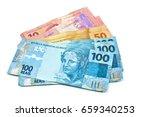Brazilian Money Bills  One...