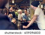craft beer booze brew alcohol...   Shutterstock . vector #659396833