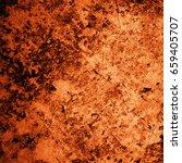 abstract grunge brown background | Shutterstock . vector #659405707
