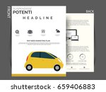 business flyer vector  ... | Shutterstock .eps vector #659406883