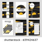abstract vector layout... | Shutterstock .eps vector #659424637