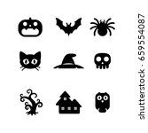 icon halloween  vector