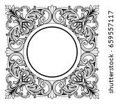 vintage imperial baroque mirror ...   Shutterstock .eps vector #659557117