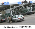 dorohusk poland   december 18...   Shutterstock . vector #659571973