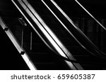 stairs on the railway station | Shutterstock . vector #659605387