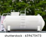 liquefied gas tank. tank for... | Shutterstock . vector #659675473