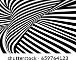 vector op art pattern. optical...   Shutterstock .eps vector #659764123