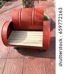 steel tank chair. sofa bucket.   Shutterstock . vector #659772163