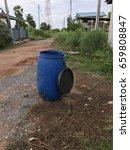 plastic bin | Shutterstock . vector #659808847