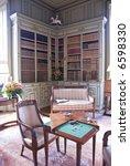 Library In Chateau Cheverny....