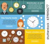watch clock work banner