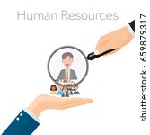 human resources management ... | Shutterstock .eps vector #659879317