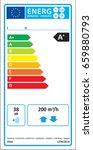 bidirectional ventilation unit  ... | Shutterstock .eps vector #659880793