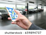 car sharing   pick me up   auto ... | Shutterstock . vector #659894737