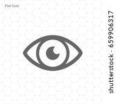 eye icon   Shutterstock .eps vector #659906317