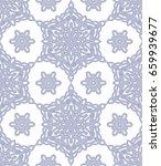 vector  illustration  mandala ... | Shutterstock .eps vector #659939677