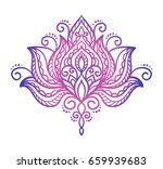 vector  abstract  oriental... | Shutterstock .eps vector #659939683