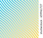 stripes waves abstract... | Shutterstock .eps vector #659961727