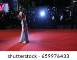 natasha poly attends the 'in... | Shutterstock . vector #659976433