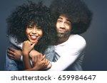 beautiful love couple    Shutterstock . vector #659984647