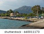 vasiliki  lefkada  greece july... | Shutterstock . vector #660011173