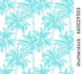 seamless pattern. ink sketch of ... | Shutterstock .eps vector #660029503