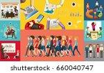 infographic design for business ...   Shutterstock .eps vector #660040747