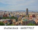 barcelona  spain  28 may 2017 ... | Shutterstock . vector #660077017