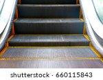 escalators staircase | Shutterstock . vector #660115843