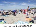 grand bend ontario  canada  ... | Shutterstock . vector #660206833