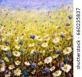 original oil painting of...   Shutterstock . vector #660235837