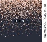 vector romantic card for lovers ...   Shutterstock .eps vector #660241843