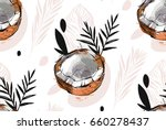 hand drawn vector abstract... | Shutterstock .eps vector #660278437