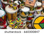 afro brazilian drums and... | Shutterstock . vector #660300847
