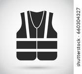 safety vest   industrial... | Shutterstock .eps vector #660304327