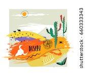 vector hand drawn illustration. ... | Shutterstock .eps vector #660333343