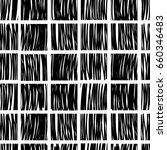 vector seamless pattern  black...   Shutterstock .eps vector #660346483