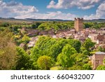 Richmond Castle Skyline   The...