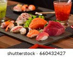 japanese food | Shutterstock . vector #660432427