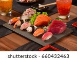 japanese food | Shutterstock . vector #660432463