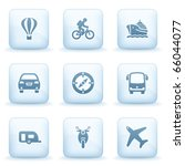 icons blue series 20   Shutterstock .eps vector #66044077