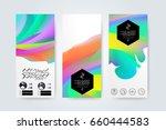 abstract digital memphis style...   Shutterstock .eps vector #660444583