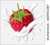vector illustration of a juicy... | Shutterstock .eps vector #660451387