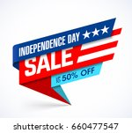 usa independence day sale... | Shutterstock .eps vector #660477547