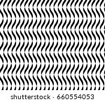 wavy lines seamless abstract... | Shutterstock . vector #660554053