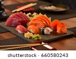 japanese food  | Shutterstock . vector #660580243