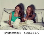 friendship  people  pajama... | Shutterstock . vector #660616177