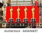 Small photo of Hollywood, CA, USA February 18, 2009 A banner highlighting the Oscars hangs along Hollywood Boulevard in Hollywood, California just prior tot he Academy Award Ceremony
