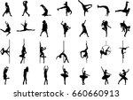 dance. hip hop. break dance.... | Shutterstock .eps vector #660660913
