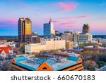 raleigh  north carolina  usa... | Shutterstock . vector #660670183
